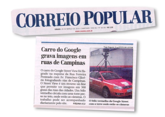 Google Street View no Correiro Popular